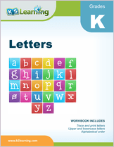 Featured Workbook - Letters