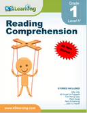 Reading Comprehension Workbooks for Grade 1