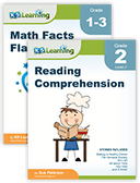 Reading and math workbooks