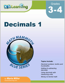 Decimals Workbook for Grades 5-6