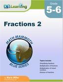 Fractions Workbook for Grades 5-6