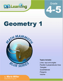 Geometry Workbook for Grades 4-5