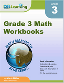 Math Workbooks for Grade 3