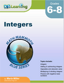 Integers Workbook