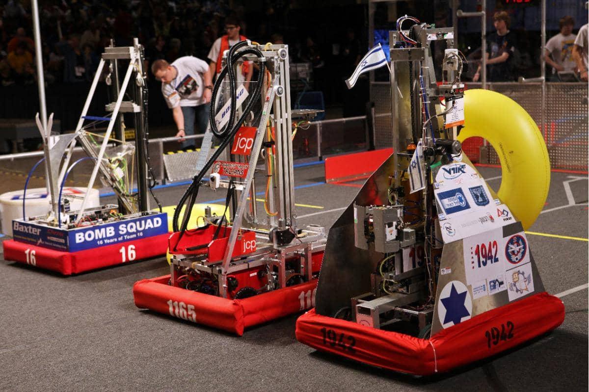 Robotics Contest Encourages Teamwork