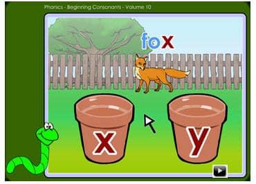 Online phonics for kindergarten and preschool.   K5 Learning