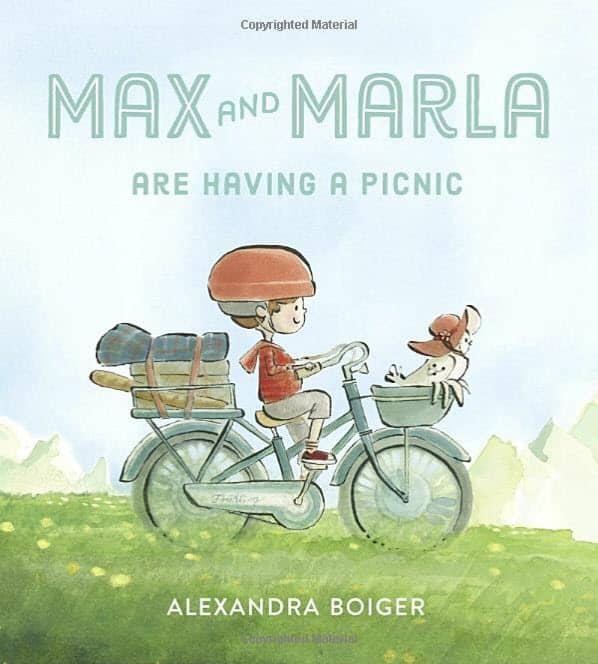 Max and Maria have a picnic