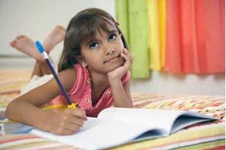 child creative writing