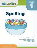 Grade 1 Spelling Workbook - download and print
