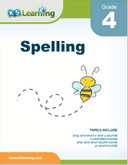 Grade 4 Spelling Workbook - download and print