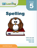 Grade 5 Spelling Workbook - download and print