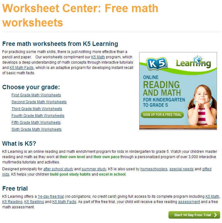 Why Math Worksheets Play an Essential Part in Learning Math – Play School Worksheets