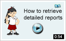 Video tour: How to retreive detailed reports