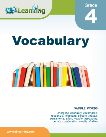 grade 4 vocabulary book