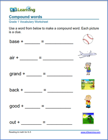 First Grade Vocabulary Worksheets – printable and organized ...