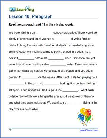 new grade 3 vocabulary worksheets and workbook